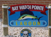 Bay Watch Pointe Sign Assembly