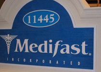 Medifast Sign Monument