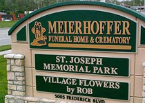 Meierhoffer Funeral Home & Crematory Sign