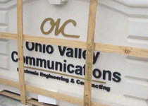 Ohio Valley Communications Sign Monument