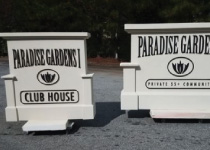 Community Entrance Sign and Club House Sign Monuments - Property Sign Package