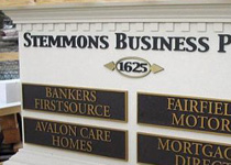 Stemmons Business Park Sign Monument