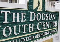 The Dodson Youth Center Sign Monument