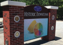 City of Wentzville Full-Color LED Sign Monument