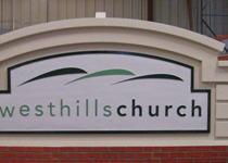 Westhills Church Monument Sign