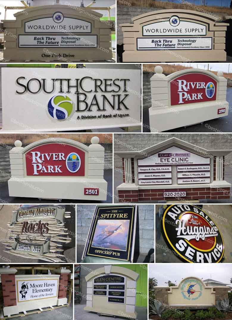 Best Sign Collage 16 - BestSignMonuments.com