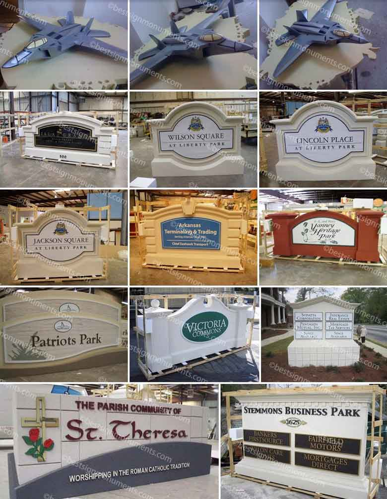 Best Sign Collage 18 - BestSignMonuments.com