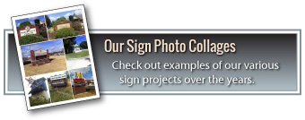 Visit Our Online Sign Photo Collages
